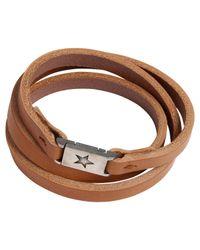 Agnes B. - Brown Bracelet Star for Men - Lyst