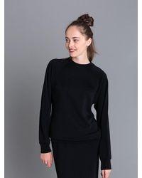 Agnes B. - Black Senga Sweatshirt - Lyst