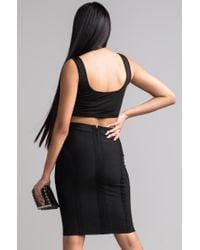 Akira - Black Grown Woman Skirt - Lyst