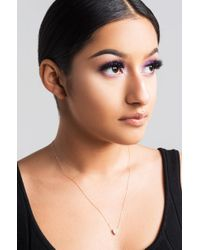Akira - Multicolor All Heart Necklace - Lyst