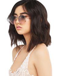 AKIRA - Blue Spitfire Poolside Sunglasses - Lyst