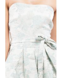 Akira - White Take It Up Min Dress - Lyst