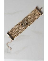 Akira - Metallic All Mine Coin Bracelet - Lyst