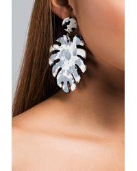 Akira - Black Halakiki Palm Earring - Lyst