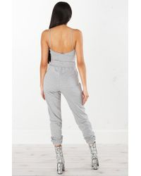 Akira - Gray Cant Even High Waist Sweat Pant - Lyst