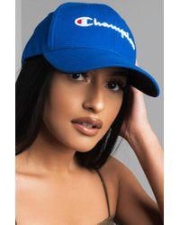 Champion - Blue Classic Twill Hat - Lyst