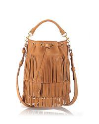 Saint Laurent | Natural Small 'emmanuelle' Bucket Bag | Lyst