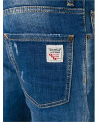 DSquared² Blue Cool Guy Lightly Distressed Jeans for men
