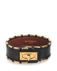 Givenchy | Metallic Shark Lock Bracelet | Lyst