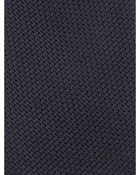 Alexander McQueen - Blue Solid Grenadine Tie for Men - Lyst