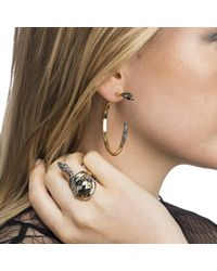 Alexis Bittar - Metallic Two Part Snake Hoop Earring You Might Also Like - Lyst