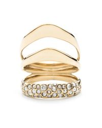 Alexis Bittar | Metallic Liquid Gold Crystal Encrusted Draping Ring You Might Also Like | Lyst