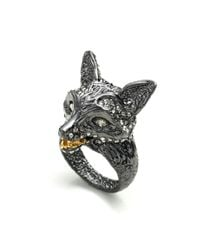 Alexis Bittar - Metallic Dark Phoenix Crystal Encrusted Fox Ring You Might Also Like - Lyst