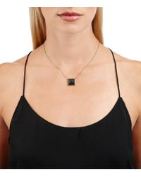 Alexis Bittar - Black Lucite Pyramid Pendant You Might Also Like - Lyst