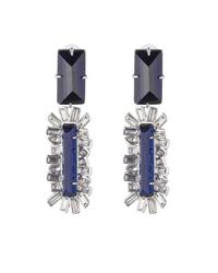 Alexis Bittar | Blue Framed Baguette Dangling Clip Earring You Might Also Like | Lyst
