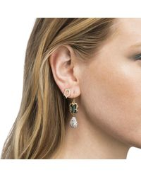 Alexis Bittar | Multicolor Mismatched Stone Wire Earring You Might Also Like | Lyst