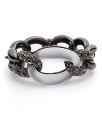 Alexis Bittar - Metallic Neo Boho Crystal Frozen Link Hinge Bracelet You Might Also Like - Lyst