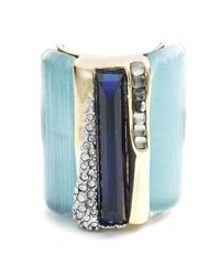 Alexis Bittar - Blue Ombre Cabochon Striped Cocktail Ring You Might Also Like - Lyst