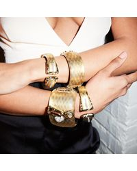 Alexis Bittar - Metallic Double Buckle Hinge Bracelet You Might Also Like - Lyst