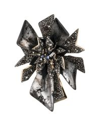 Alexis Bittar | Multicolor Two-tone Crystal Encrusted Perennial Punk Pin You Might Also Like | Lyst
