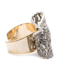 Alexis Bittar | Metallic Mosaic Lace Bow Cuff You Might Also Like | Lyst