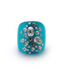 Alexis Bittar - Blue Dusted Block Ring You Might Also Like - Lyst