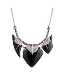 Alexis Bittar | Black Abstract Petal Bib Necklace You Might Also Like | Lyst