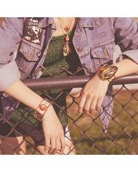 Alexis Bittar - White Neon Enamel Pendant Necklace - Lyst