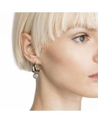 Alexis Bittar - Metallic Liquid Gold Crystal Accented Infinity Hoop Earring You Might Also Like - Lyst