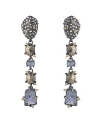 Alexis Bittar - White Linear Stone Drop Post Earring You Might Also Like - Lyst