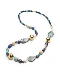 Alexis Bittar - Metallic Liquid Gold Sphere Strand Necklace You Might Also Like - Lyst