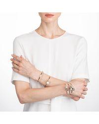 Alexis Bittar - Metallic Crystal Encrusted Interlocking Sphere Cuff Bracelet You Might Also Like - Lyst