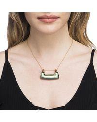 Alexis Bittar - Multicolor Buckle Shape Lucite Pendant Necklace - Lyst