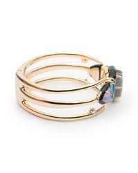 Alexis Bittar - Metallic Spike Framed Hinge Bracelet - Lyst