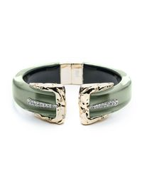 Alexis Bittar - Green Double Buckle Brake Hinge Bracelet You Might Also Like - Lyst