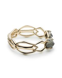 Alexis Bittar - Metallic Kinetic Gold Bypass Hinged Bracelet You Might Also Like - Lyst