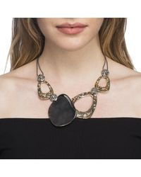 Alexis Bittar - Metallic Linked Rocky Metal Disk Bib Necklace You Might Also Like - Lyst