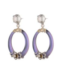 Alexis Bittar - Multicolor Lattice Lace Pearl Hinge Post Earring You Might Also Like - Lyst
