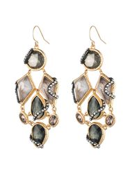 Alexis Bittar - Metallic Dark Phoenix Multi-stone Dangling Earring You Might Also Like - Lyst