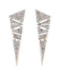 Alexis Bittar - White Mosaic Lace Dangling Post Earring You Might Also Like - Lyst