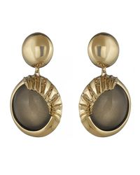 Alexis Bittar | Multicolor Sculptural Sphere Dangling Post Earring You Might Also Like | Lyst