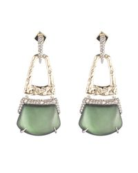 Alexis Bittar - Multicolor Rocky Buckle Post Earring You Might Also Like - Lyst
