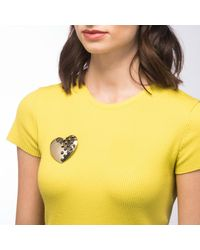 Alexis Bittar - Multicolor Domed Heart Grater Pin You Might Also Like - Lyst