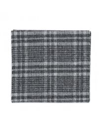 Norse Projects - Black Norse X Johnstons Check Scarf for Men - Lyst