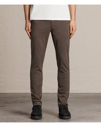 AllSaints | Multicolor Park Chino for Men | Lyst