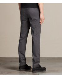 AllSaints | Blue Park Chino for Men | Lyst
