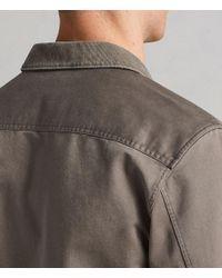 AllSaints - Green Tactical Shirt for Men - Lyst