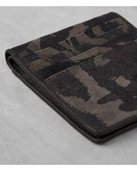 AllSaints - Multicolor Hawk Leather Wallet for Men - Lyst