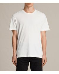 AllSaints | White Mayther Crew T-shirt for Men | Lyst