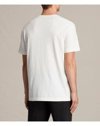 AllSaints - White Mayther Crew T-shirt for Men - Lyst